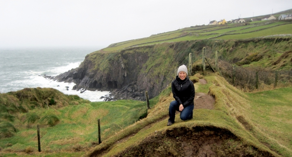 Irene Shui enjoys being an Irish Rose Travel Fellow